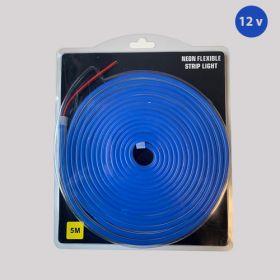 Led Neon Strip Blauw 12v waterdicht IP68 SMD2835