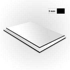 Aluminium sandwichplaat wit 3mm